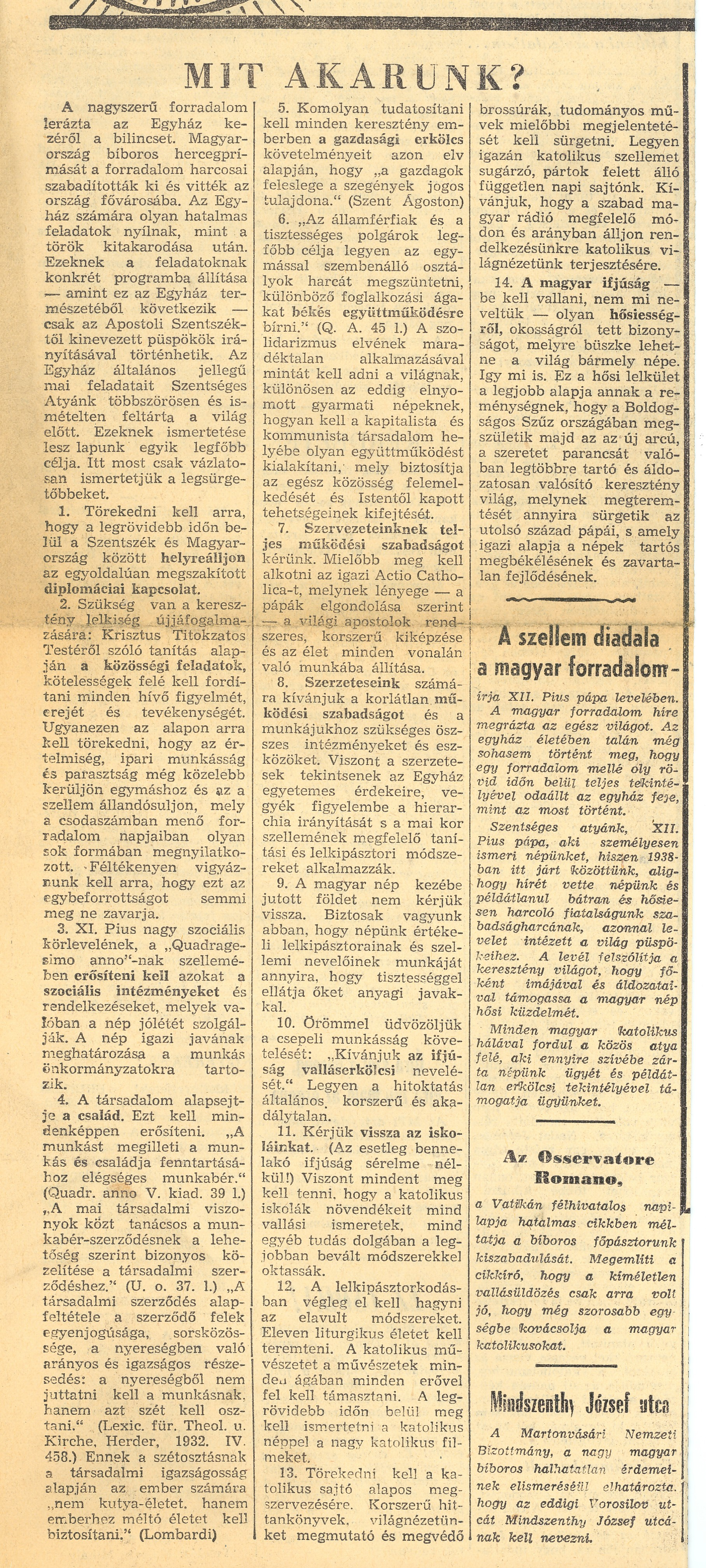 da6bab13741e Budapest januártól márciusig [Budapest from January to March], 1957 [in  Hungarian] Page 1 2. Lábhoz tett fegyverrel [Arms layed down], Irodalmi  újság, ...